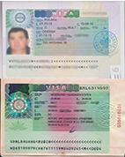 Visas from Ukraine abroad